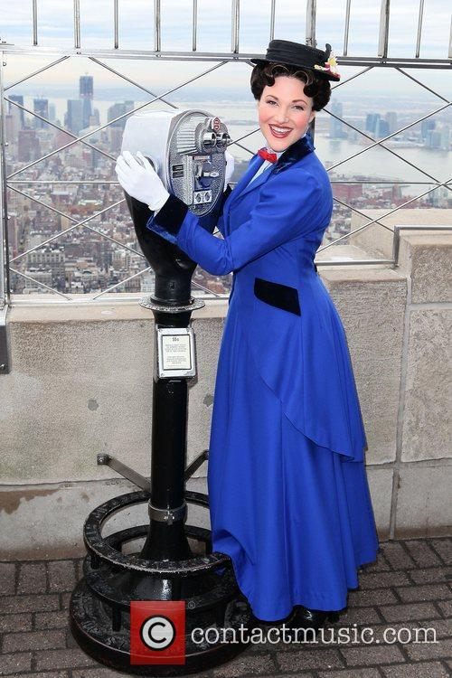 Steffanie Leigh  star of 'Mary Poppins' lights...