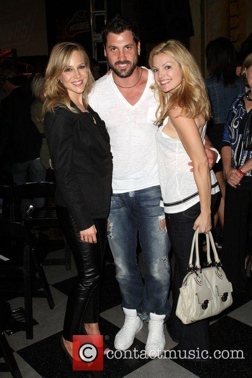 Julie Benz, Clare Kramer and Maksim Chmerkovskiy 10