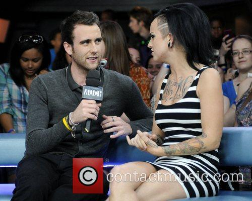 Matthew Lewis and Harry Potter 4