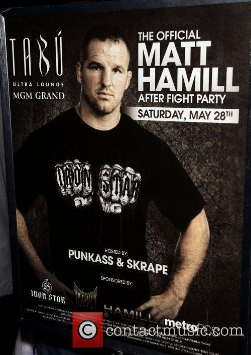 UFC 130 main event fighter Matt Hamill hosts...