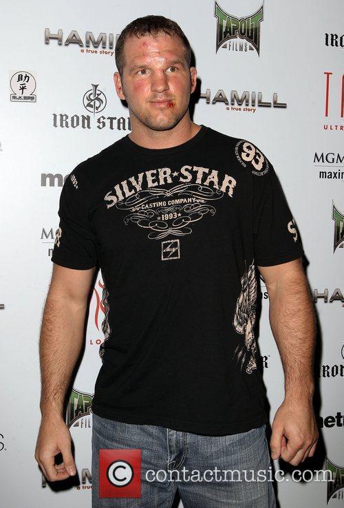 UFC 130 main event fighter Matt Hamill hosts...