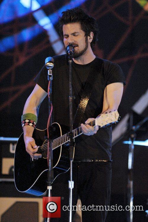 Matt Nathanson performs on stage at The Opera...