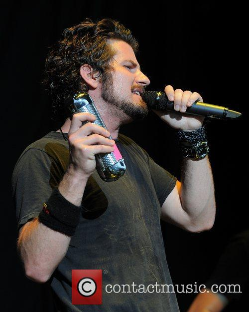 Matt Nathanson performs at the Cruzan Amphitheater in...