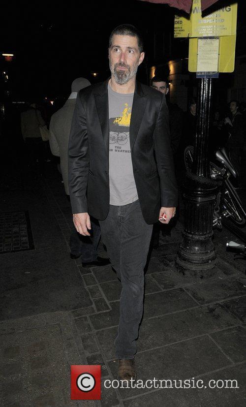 'Lost' star Matthew Fox leaving the Vaudeville theatre,...