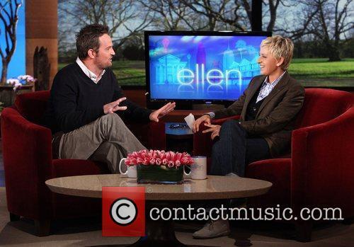 Matthew Perry appears on 'The Ellen DeGeneres Show'...