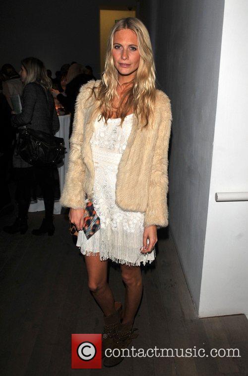 Poppy Delevigne London Fashion Week A/W 2011 -...