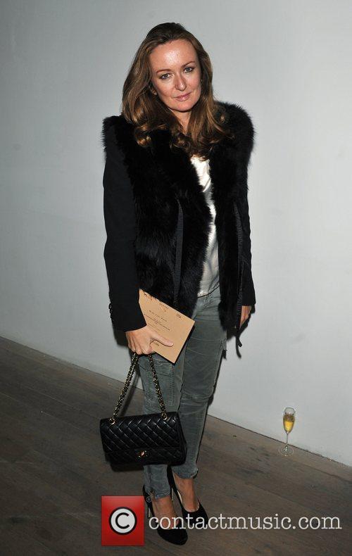 Angela Ahrendts London Fashion Week A/W 2011 -...
