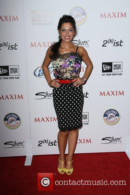 Sarah Shahi 2011 Maxim Hot 100 Party held...