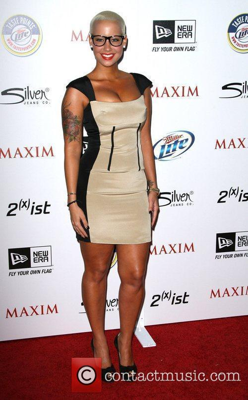 Amber Rose 2011 Maxim Hot 100 Party held...