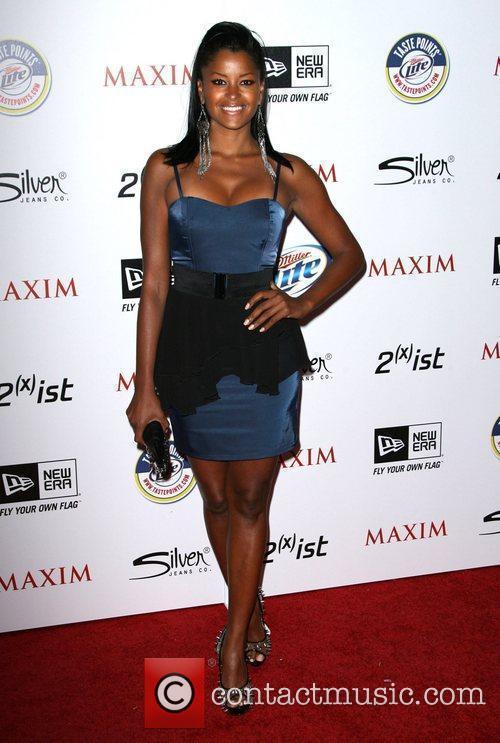 Claudia Jordan 2011 Maxim Hot 100 Party held...
