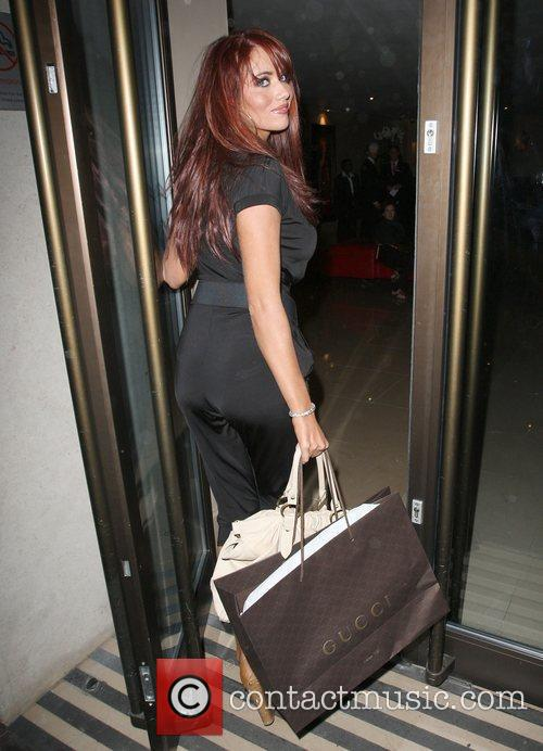 Amy Childs at the May Fair hotel in...