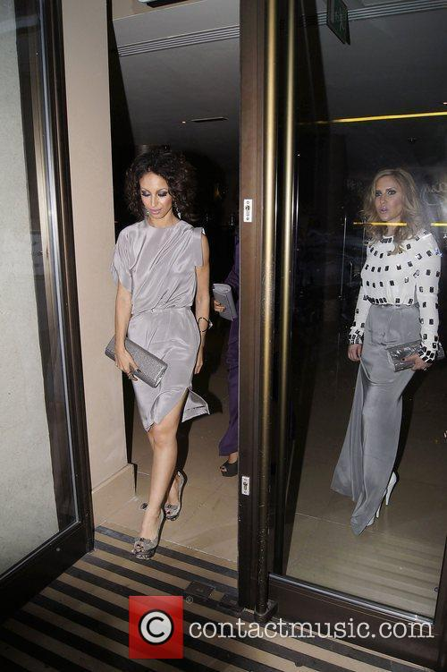 Amelle Berrabah and Heidi Range ,  at...
