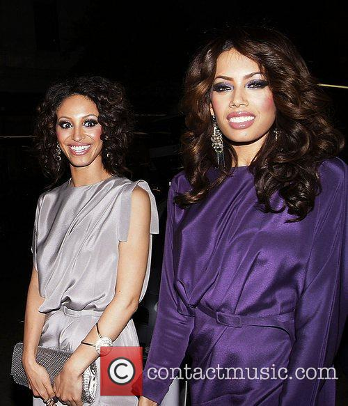 Amelle Berrabah and Jade Ewen,  at the...