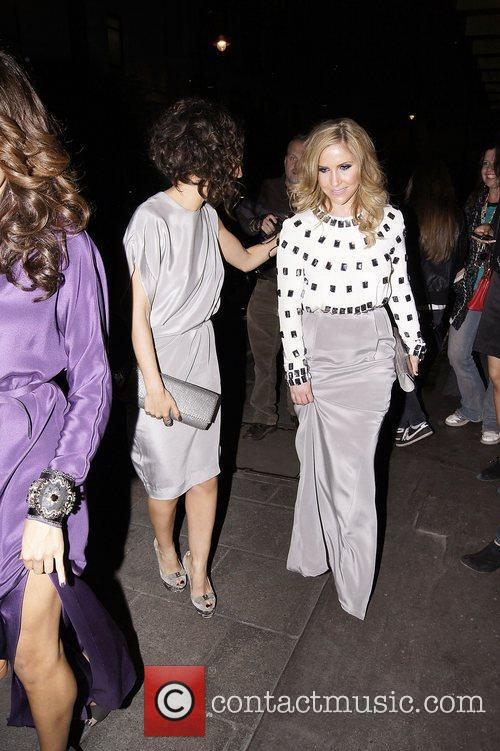 Jade Ewen and Heidi Range,  at the...