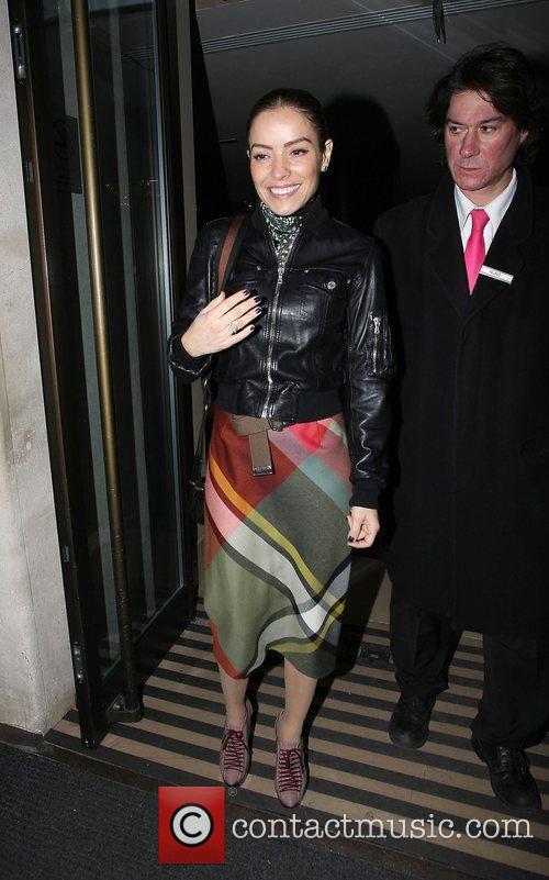 Elen Rivas at the May Fair hotel. London,...