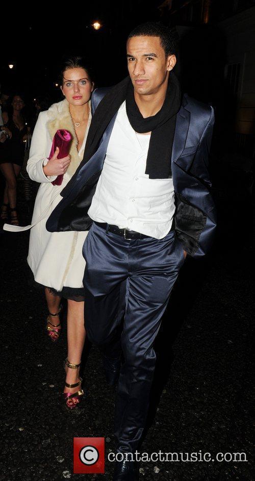 Helen Flanagan and boyfriend Scott Sinclair leavethe May...