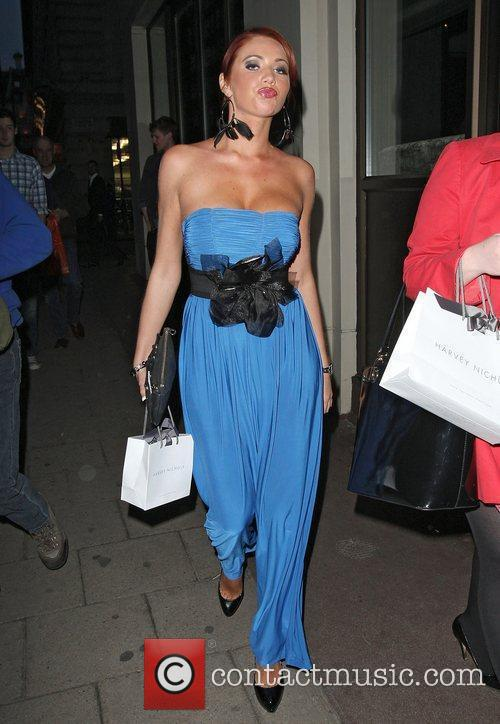 Amy Childs at the May Fair hotel London,...