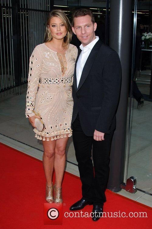 Holly Valance and Nick Candy McLaren Automotive Showroom...