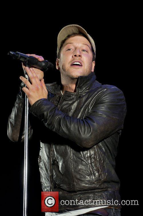 Matt Cardle performs at Meadowhall Christmas Light Switch...