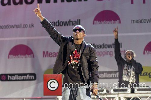 Tinchy Stryder performs at Meadowhall Christmas Light Switch...