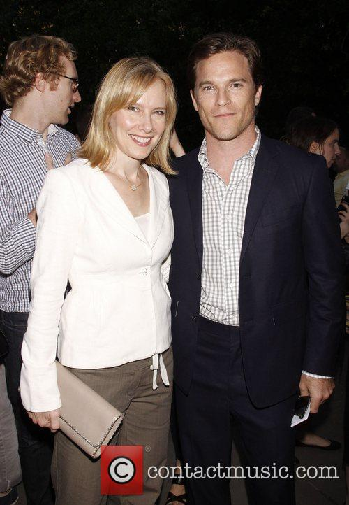 Amy Ryan and Mike Doyle The Public Theater...