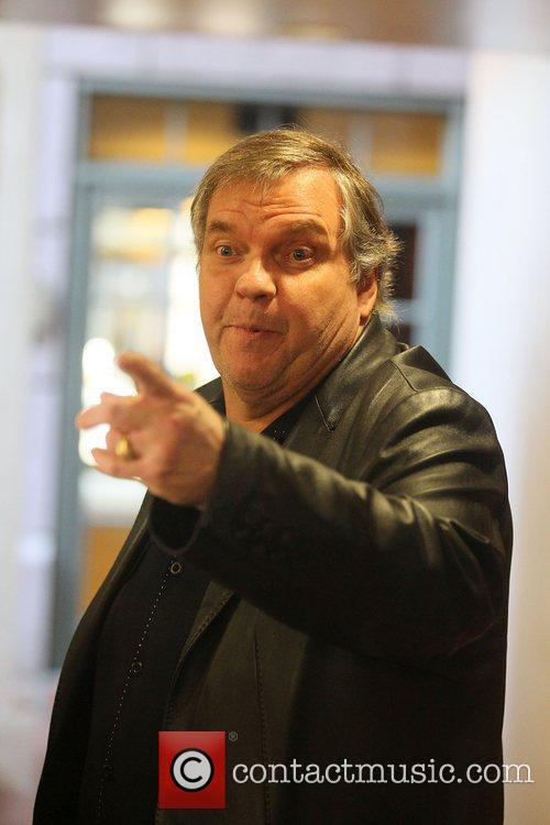 Meat Loaf out and about in Beverly Hills