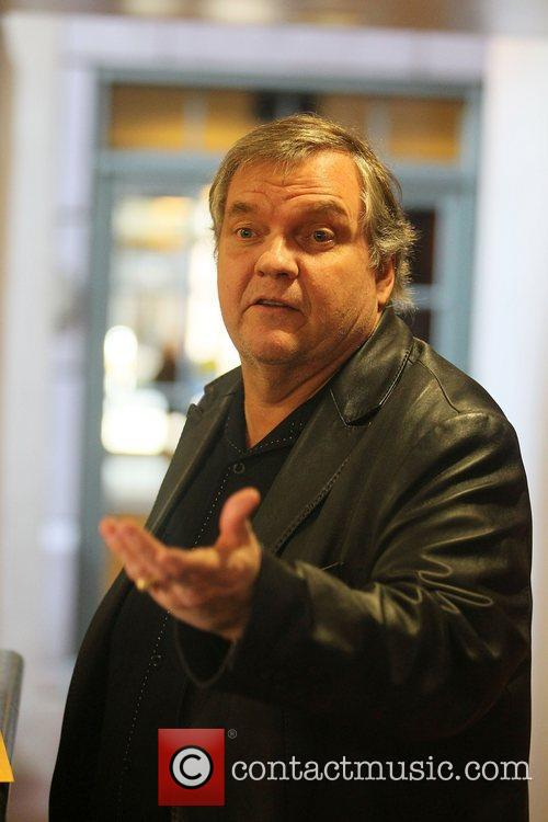 Meat Loaf out and about in Beverly Hills...