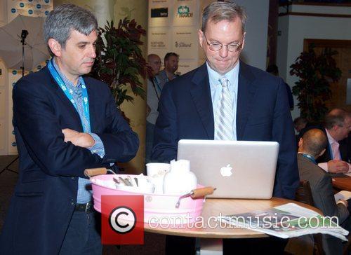 Google Chairman Eric Schmidt  MediaGuardian Edinburgh International...