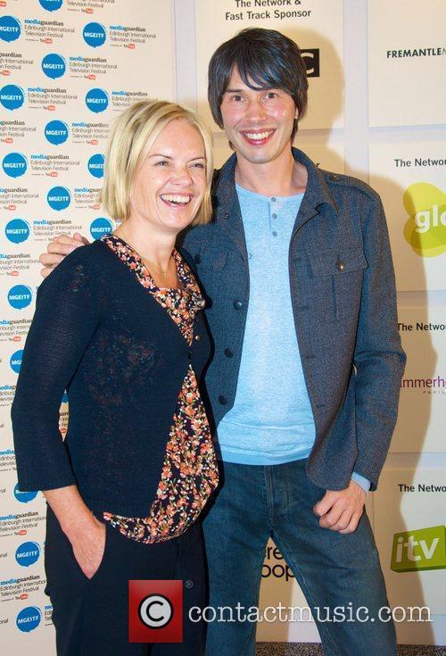 Mariella Frostrup and Professor Brian Cox MediaGuardian Edinburgh...