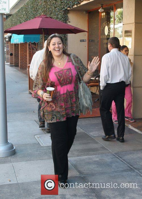 Camryn Manheim outside the Bedford Medical building in...