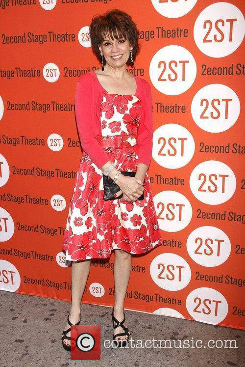 Beth Leavel Opening night of the Off-Broadway production...