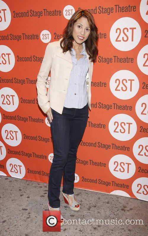 Elizabeth Rodriguez Opening night of the Off-Broadway production...