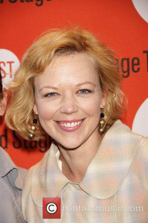 Emily Bergl Opening night of the Off-Broadway production...
