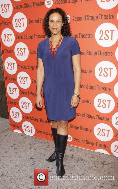 Linda Powell Opening night of the Off-Broadway production...