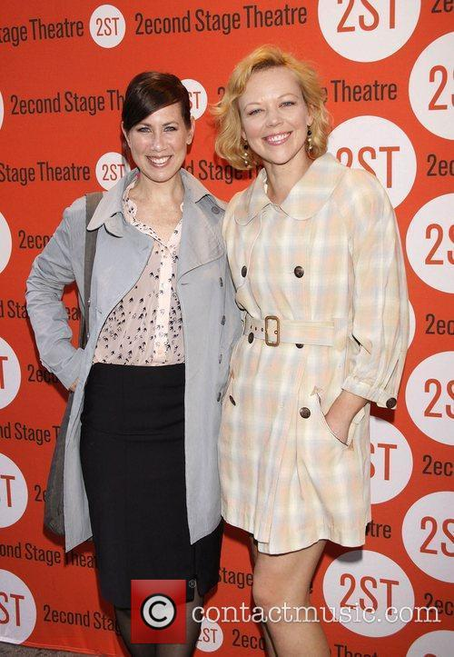 Miriam Shor and Emily Bergl Opening night of...