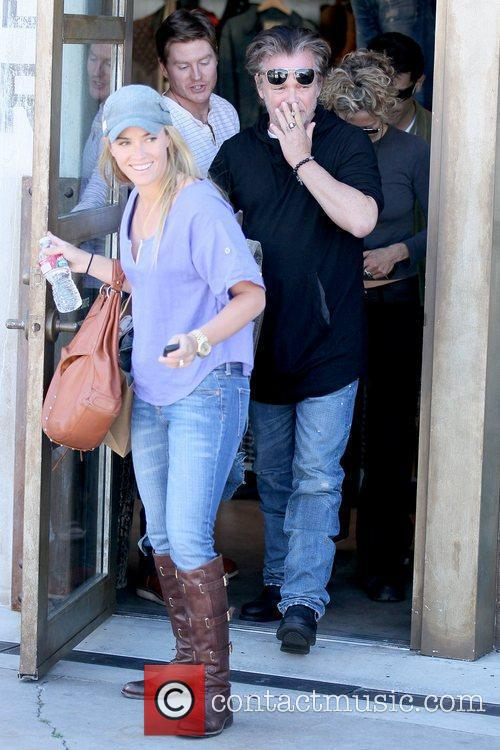 Meg Ryan leaving RRL boutique in West Hollywood...