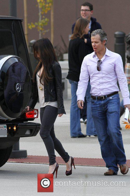 Megan Fox and Tim Westwood 6