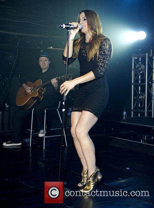 Mel C (real name Melanie Chisholm) performing at...