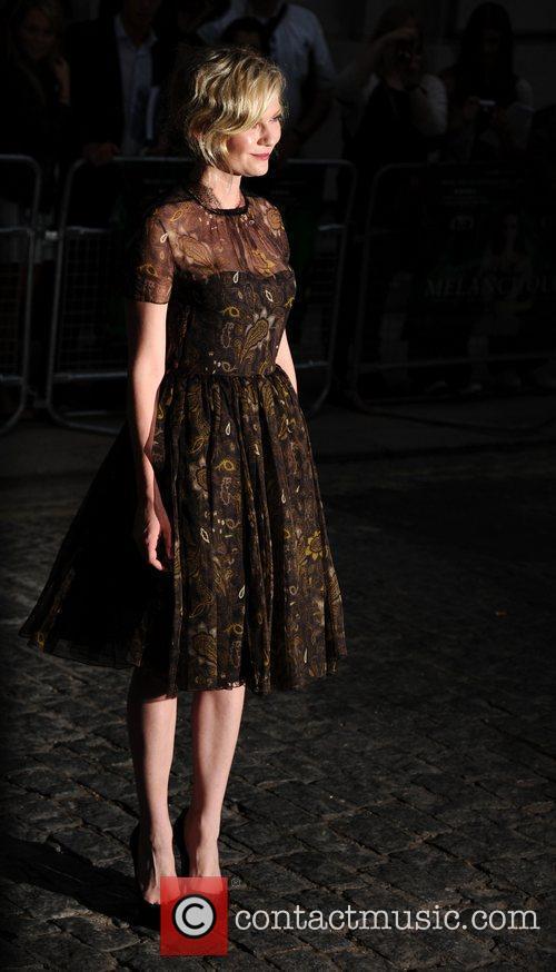 Kirsten Dunst 'Melancholia' UK premiere - Arrivals London,...