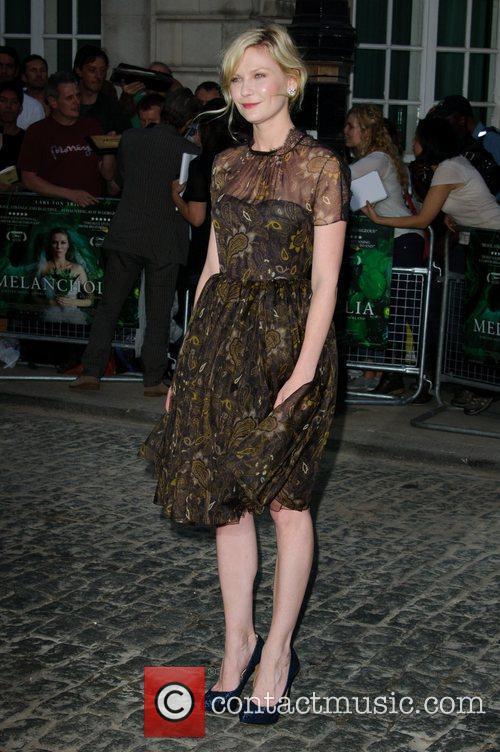 Kirsten Dunst Uk Premiere of 'Melancholia' at the...
