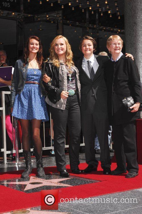 Melissa Etheridge and Walk Of Fame 3
