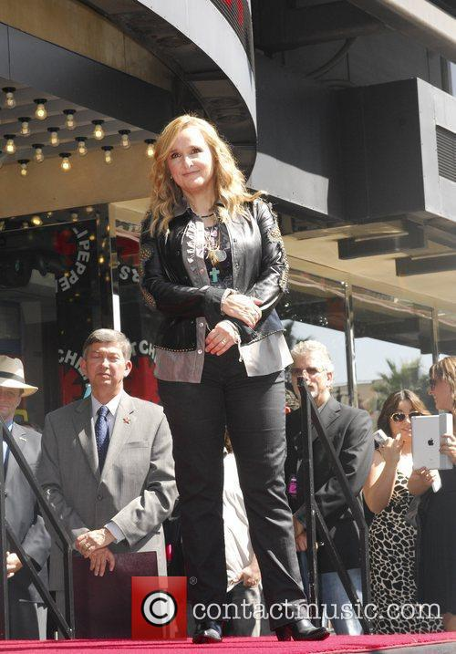 Melissa Etheridge and Walk Of Fame 7
