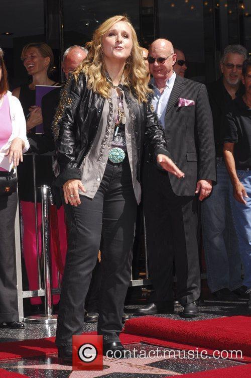 Melissa Etheridge and Walk Of Fame 9