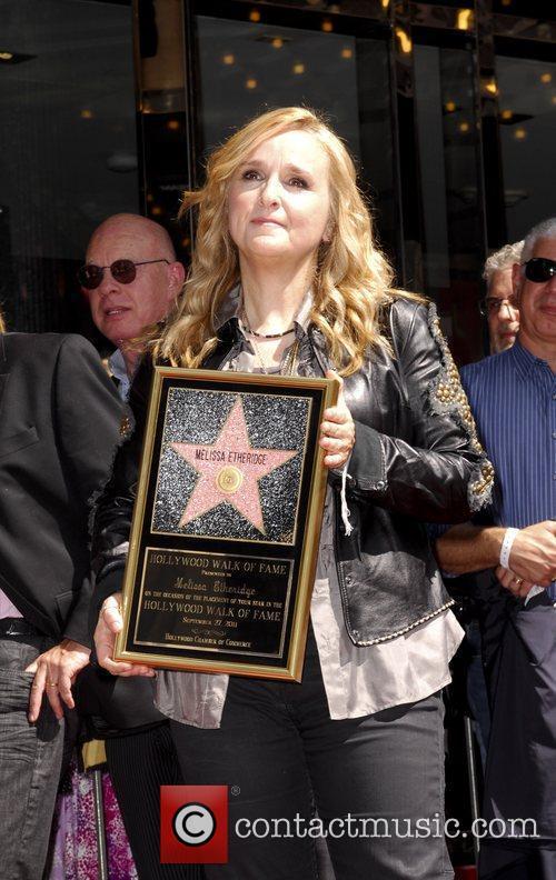Melissa Etheridge and Walk Of Fame 10
