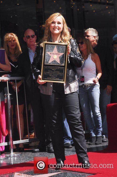 Melissa Etheridge and Walk Of Fame 5