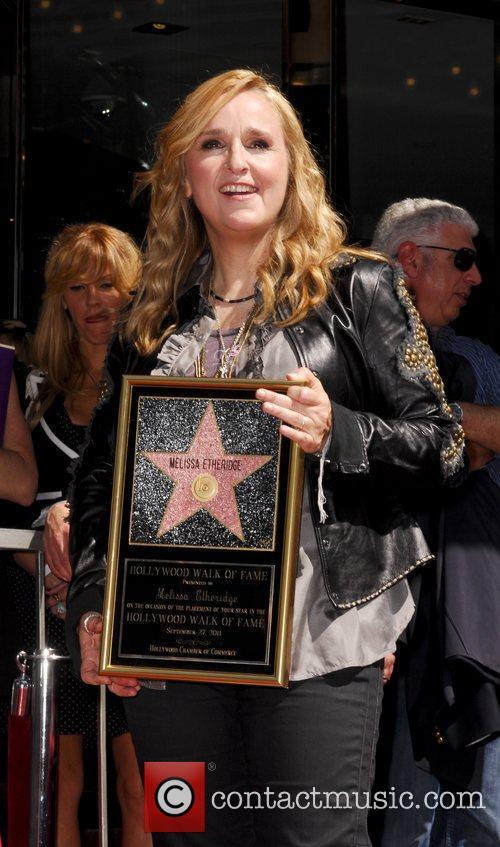 Melissa Etheridge and Walk Of Fame 8