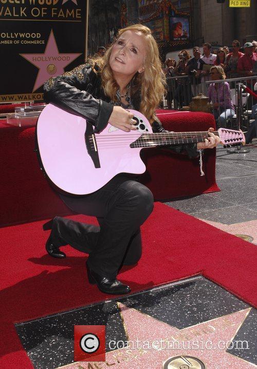 Melissa Etheridge and Walk Of Fame 11