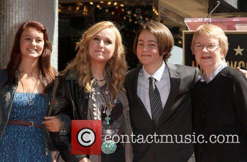 Melissa Etheridge with daughter Bailey Jean Cypher, son...