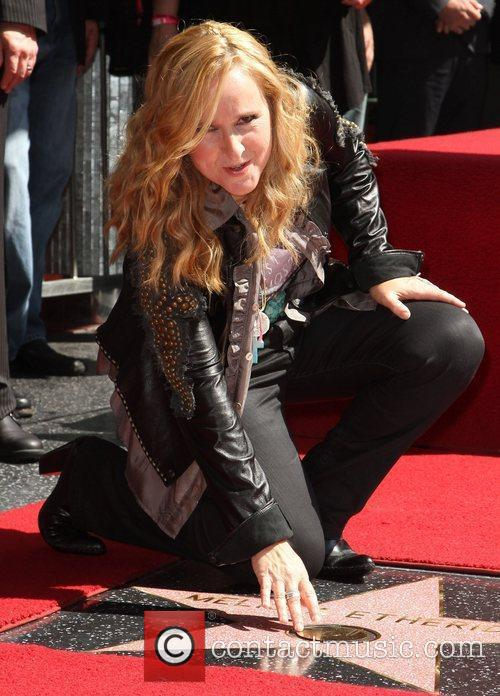 Honoued with a star on the Hollywood Walk...