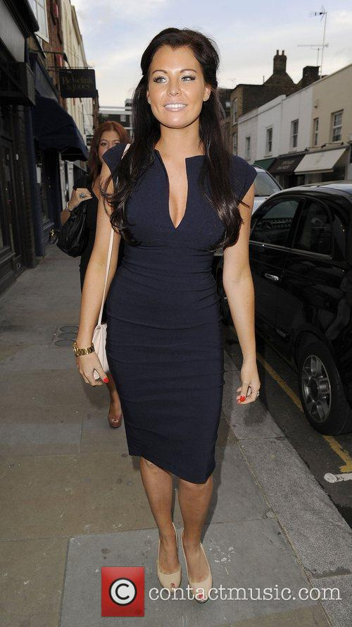 Jessica Wright attends the Melissa Odabash boutique launch...